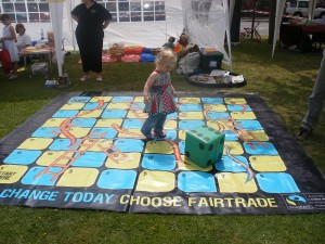 Fairtrade Snakes & Ladders Game